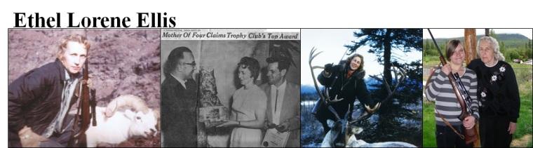 Ethel Lorene Ellis Family